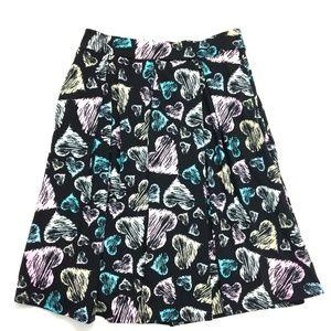 LuLaRoe Skirts - LuLaRoe Madison Skirt Hearts M